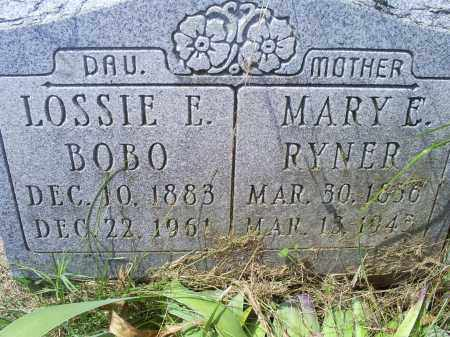 BOBO, LOSSIE E. - Ross County, Ohio | LOSSIE E. BOBO - Ohio Gravestone Photos