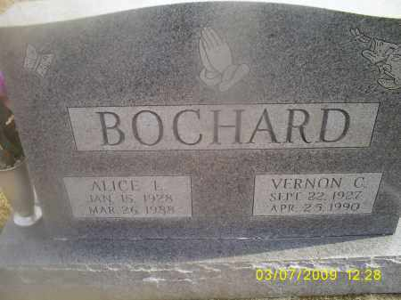 BOCHARD, ALICE L. - Ross County, Ohio | ALICE L. BOCHARD - Ohio Gravestone Photos