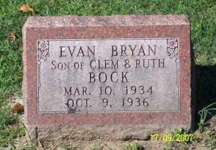 BOCK, EVAN BRYAN - Ross County, Ohio | EVAN BRYAN BOCK - Ohio Gravestone Photos