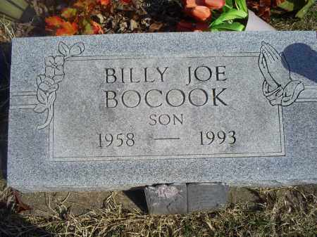 BOCOOK, BILLY JOE - Ross County, Ohio   BILLY JOE BOCOOK - Ohio Gravestone Photos
