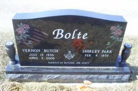 """BOLTE, VERNON """"BUTCH"""" - Ross County, Ohio   VERNON """"BUTCH"""" BOLTE - Ohio Gravestone Photos"""