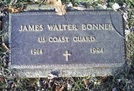 BONNER, JAMES WALTER - Ross County, Ohio | JAMES WALTER BONNER - Ohio Gravestone Photos