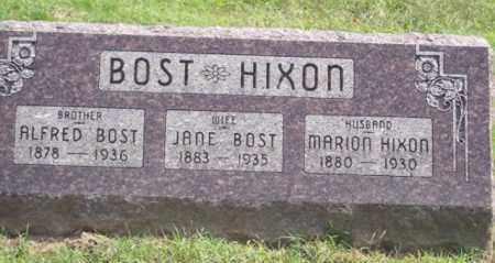 BOST, ALFRED - Ross County, Ohio | ALFRED BOST - Ohio Gravestone Photos