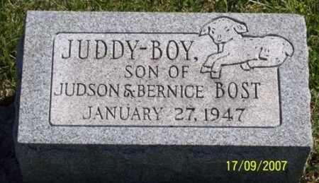 BOST, JUDDY-BOY - Ross County, Ohio | JUDDY-BOY BOST - Ohio Gravestone Photos