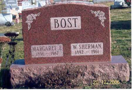 BOST, MARGARET E. - Ross County, Ohio | MARGARET E. BOST - Ohio Gravestone Photos