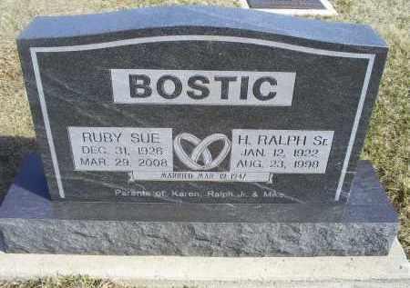 BOSTIC, RUBY SUE - Ross County, Ohio | RUBY SUE BOSTIC - Ohio Gravestone Photos