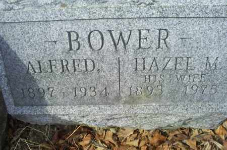 BOWER, ALFRED - Ross County, Ohio | ALFRED BOWER - Ohio Gravestone Photos