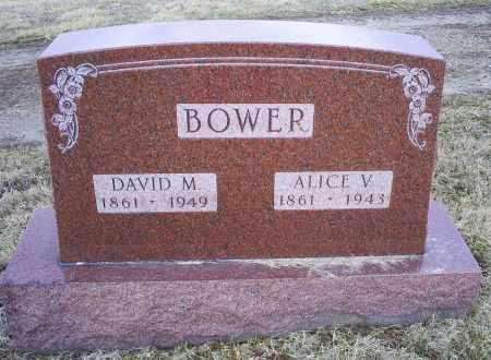 BOWER, ALIVE V. - Ross County, Ohio | ALIVE V. BOWER - Ohio Gravestone Photos