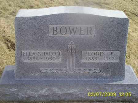 BOWER, LOUIS F. - Ross County, Ohio | LOUIS F. BOWER - Ohio Gravestone Photos