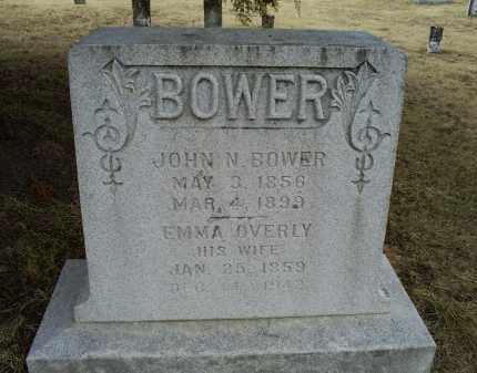 BOWER, JOHN N. - Ross County, Ohio | JOHN N. BOWER - Ohio Gravestone Photos
