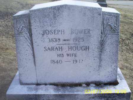 HOUGH BOWER, SARAH - Ross County, Ohio | SARAH HOUGH BOWER - Ohio Gravestone Photos