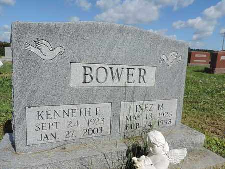 BOWER, KENNETH E. - Ross County, Ohio | KENNETH E. BOWER - Ohio Gravestone Photos
