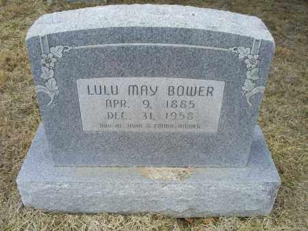 BOWER, LULU MAY - Ross County, Ohio   LULU MAY BOWER - Ohio Gravestone Photos