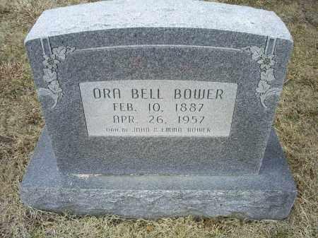 BOWER, ORA BELL - Ross County, Ohio | ORA BELL BOWER - Ohio Gravestone Photos