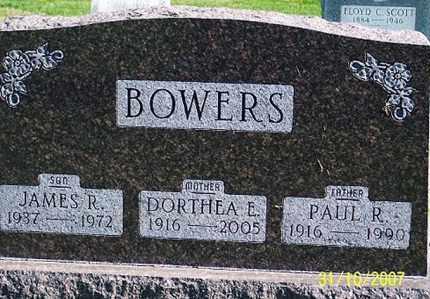 BOWERS, PAUL R. - Ross County, Ohio | PAUL R. BOWERS - Ohio Gravestone Photos