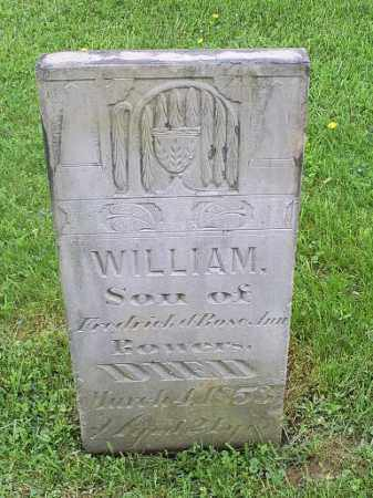 BOWERS, WILLIAM - Ross County, Ohio | WILLIAM BOWERS - Ohio Gravestone Photos