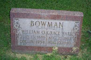 BOWMAN, WILLIAM O. - Ross County, Ohio | WILLIAM O. BOWMAN - Ohio Gravestone Photos