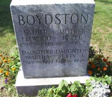 BOYDSTON, MARTHA - Ross County, Ohio | MARTHA BOYDSTON - Ohio Gravestone Photos