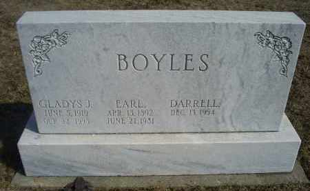 BOYLES, GLADYS J. - Ross County, Ohio | GLADYS J. BOYLES - Ohio Gravestone Photos