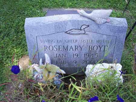 BOYT, ROSEMARY - Ross County, Ohio | ROSEMARY BOYT - Ohio Gravestone Photos