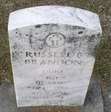 BRANDON, RUSSELL B. - Ross County, Ohio | RUSSELL B. BRANDON - Ohio Gravestone Photos