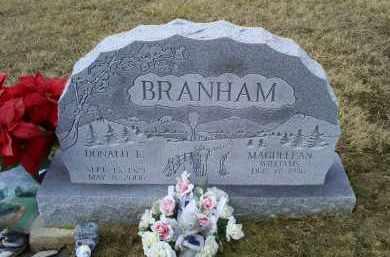 BRANHAM, DONALD E. - Ross County, Ohio   DONALD E. BRANHAM - Ohio Gravestone Photos