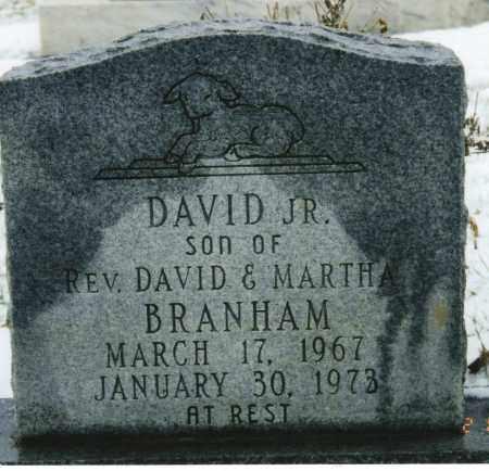 BRANHAM JR, DAVID LESLIE - Ross County, Ohio   DAVID LESLIE BRANHAM JR - Ohio Gravestone Photos