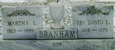 BRANHAM, MARTHA LOUISE - Ross County, Ohio | MARTHA LOUISE BRANHAM - Ohio Gravestone Photos