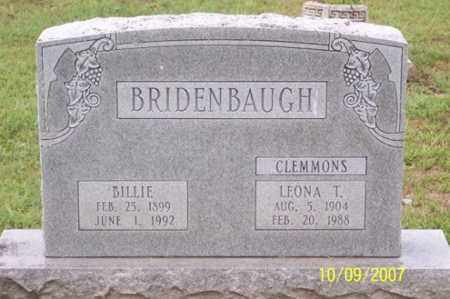 CLEMMONS BRIDENBAUGH, LEONA T. - Ross County, Ohio | LEONA T. CLEMMONS BRIDENBAUGH - Ohio Gravestone Photos