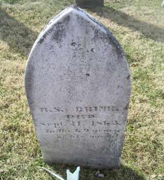 BRINK, R. S. - Ross County, Ohio | R. S. BRINK - Ohio Gravestone Photos