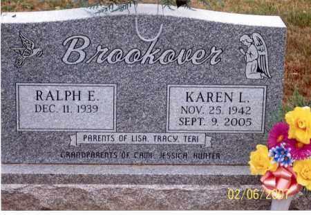 BROOKOVER, RALPH E. - Ross County, Ohio | RALPH E. BROOKOVER - Ohio Gravestone Photos