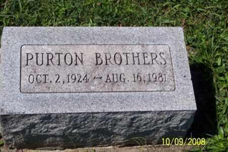 BROTHERS, PURTON - Ross County, Ohio | PURTON BROTHERS - Ohio Gravestone Photos