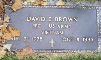 BROWN, DAVID E. - Ross County, Ohio   DAVID E. BROWN - Ohio Gravestone Photos