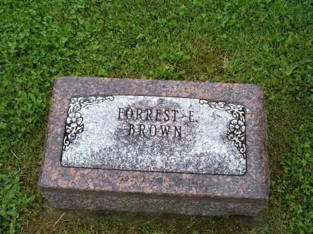 BROWN, FORREST E. - Ross County, Ohio | FORREST E. BROWN - Ohio Gravestone Photos