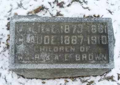 BROWN, CLAUDE - Ross County, Ohio | CLAUDE BROWN - Ohio Gravestone Photos