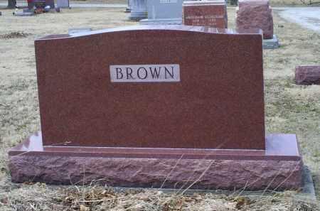 BROWN, MONUMENT - Ross County, Ohio   MONUMENT BROWN - Ohio Gravestone Photos