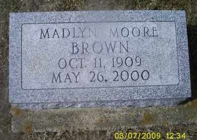 BROWN, MADLYN - Ross County, Ohio | MADLYN BROWN - Ohio Gravestone Photos