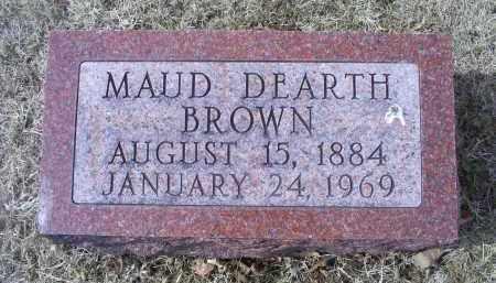 BROWN, MAUD - Ross County, Ohio   MAUD BROWN - Ohio Gravestone Photos