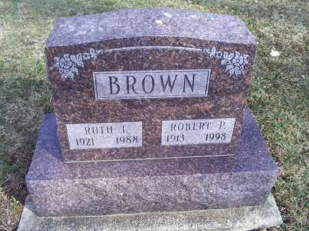 BROWN, ROBERT P. - Ross County, Ohio | ROBERT P. BROWN - Ohio Gravestone Photos