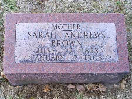 BROWN, SARAH - Ross County, Ohio | SARAH BROWN - Ohio Gravestone Photos