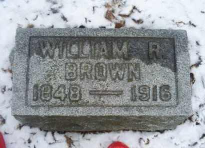 BROWN, WILLIAM R. - Ross County, Ohio | WILLIAM R. BROWN - Ohio Gravestone Photos