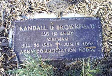BROWNFIELD, RANDALL D. - Ross County, Ohio | RANDALL D. BROWNFIELD - Ohio Gravestone Photos