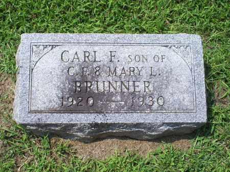 BRUNNER, CARL F. - Ross County, Ohio   CARL F. BRUNNER - Ohio Gravestone Photos