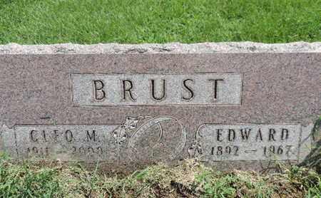 BRUST, CLEO M - Ross County, Ohio | CLEO M BRUST - Ohio Gravestone Photos