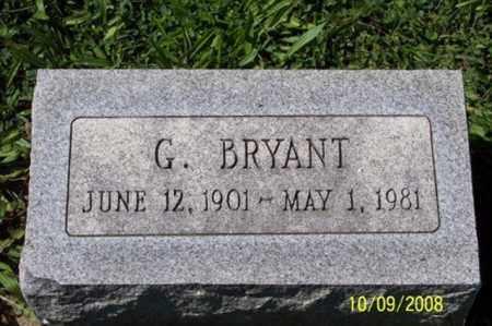 BRYANT, G. - Ross County, Ohio   G. BRYANT - Ohio Gravestone Photos