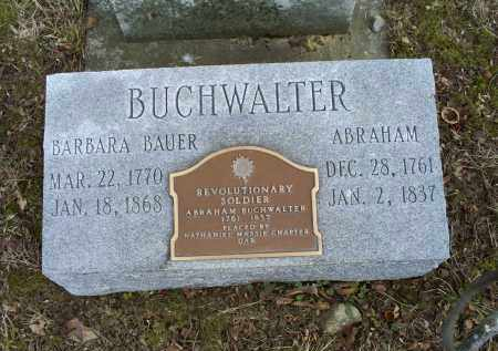 BAUER BUCHWALTER, BARBARA - Ross County, Ohio   BARBARA BAUER BUCHWALTER - Ohio Gravestone Photos