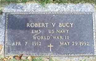 BUCY, ROBERT V. - Ross County, Ohio | ROBERT V. BUCY - Ohio Gravestone Photos