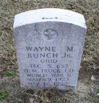 BUNCH, WAYNE M. JR. - Ross County, Ohio | WAYNE M. JR. BUNCH - Ohio Gravestone Photos