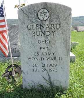 BUNDY, CLENARD - Ross County, Ohio | CLENARD BUNDY - Ohio Gravestone Photos