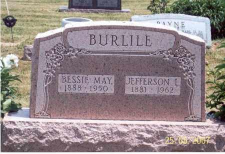 BURLILE, JEFFERSON L. - Ross County, Ohio   JEFFERSON L. BURLILE - Ohio Gravestone Photos